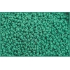 Seedbead Opaque Medium Dark Green 10/0